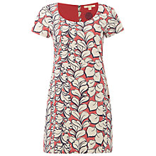 Buy White Stuff Charm Jersey Tunic Dress, Strawberry Pink Online at johnlewis.com