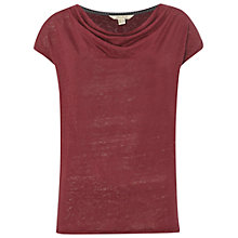 Buy White Stuff Hettie Linen Cowl T-Shirt Online at johnlewis.com