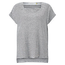 Buy Collection WEEKEND by John Lewis Stripe Jersey Linen Top Online at johnlewis.com