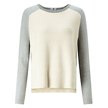 Buy Collection WEEKEND by John Lewis Boucle Jumper, Cream Online at johnlewis.com