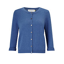 Buy Collection WEEKEND by John Lewis Lightweight Cashmere Cardigan, Denim Blue Online at johnlewis.com