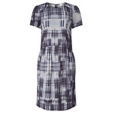 Buy Collection WEEKEND by John Lewis Patchwork Print Shift Dress, Indigo Online at johnlewis.com