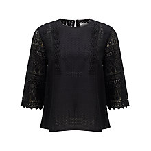 Buy Collection WEEKEND by John Lewis Lace Top Online at johnlewis.com