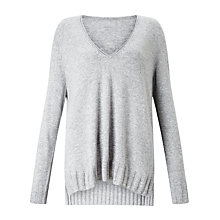 Buy John Lewis V-Neck Tunic Jumper Online at johnlewis.com