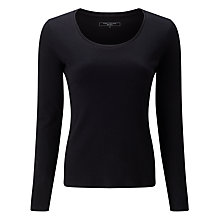 Buy John Lewis Long Sleeve Scoop Neck T-Shirt Online at johnlewis.com