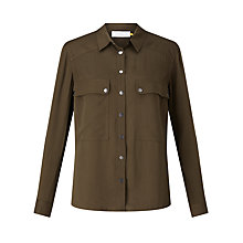 Buy Collection WEEKEND by John Lewis Twill Pocket Shirt Online at johnlewis.com