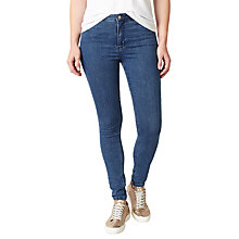 Buy John Lewis Skinny Fit Twill Denim Jeggings, Mid Wash Indigo Online at johnlewis.com