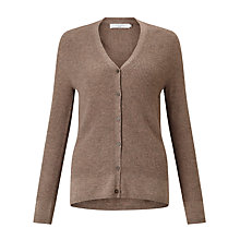 Buy John Lewis V-Neck Waffle Stitch Cardigan Online at johnlewis.com