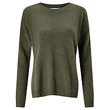 Buy Collection WEEKEND by John Lewis Drop Sleeve Cashmere Jumper Online at johnlewis.com