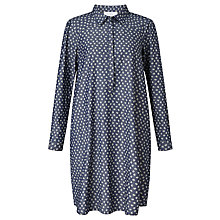 Buy Collection WEEKEND by John Lewis Ditsy Print Denim Dress, Indigo Online at johnlewis.com