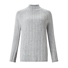 Buy John Lewis Cable Funnel Neck Jumper Online at johnlewis.com