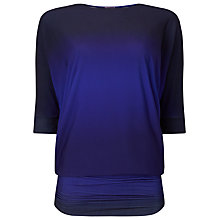 Buy Phase Eight Ombre Beth Tunic Top, Blue Online at johnlewis.com