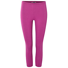 Buy White Stuff Jumping Lil Cropped Leggings, Mexican Purple Online at johnlewis.com