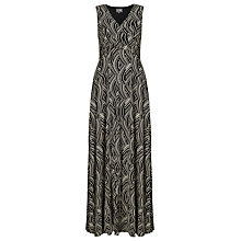 Buy Phase Eight Pascale Maxi Dress, Ivory/Black Online at johnlewis.com