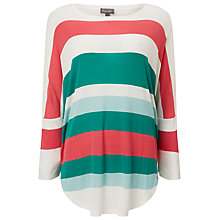 Buy Phase Eight Catrina Multi Stripe Top, Multi Online at johnlewis.com