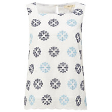 Buy White Stuff Tia Vest, Ivory/Cream Online at johnlewis.com