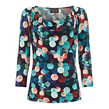 Buy Phase Eight Kylie Spot Top, Multi Online at johnlewis.com