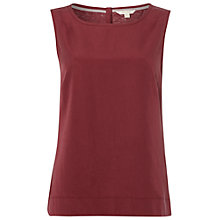 Buy White Stuff Sunny Garden Vest, Plum Pink Online at johnlewis.com