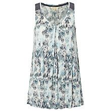 Buy White Stuff Whistling Jersey Vest, Aegean Blue Online at johnlewis.com