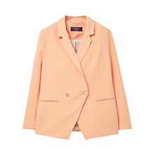 Buy Violeta by Mango Contrast Button Blazer Online at johnlewis.com