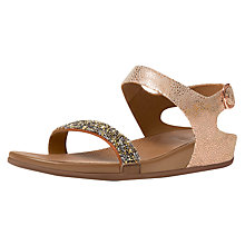 Buy Fitflop Banda Roxy Sandals, Bronze Online at johnlewis.com