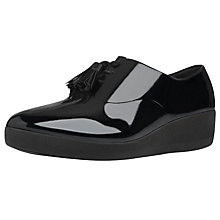 Buy FitFlop Superoxford Brogues, Black Online at johnlewis.com
