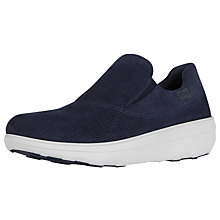 Buy Fitflop Loaff Slip on Trainers, Midnight Navy Online at johnlewis.com