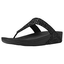 Buy FitFlop Glitterball Toe Post Flip Flops Online at johnlewis.com