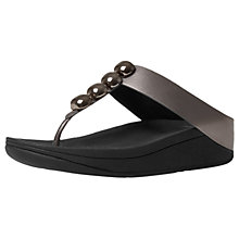 Buy FitFlop Rola Toe Post Sandals Online at johnlewis.com