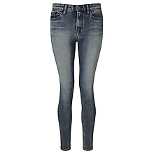 Buy Calvin Klein High Rise Skinny Jeans, Turbulent Blue Online at johnlewis.com