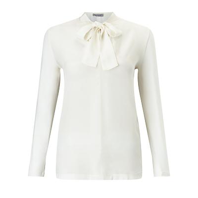 Marella Blitz Tie Front Top, White