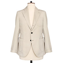 Buy Thomas Pink Dexter Cotton Silk Blazer, Stone Online at johnlewis.com