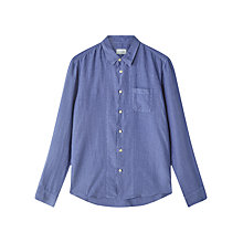 Buy Jigsaw Linen Garment Dye Slim Shirt Online at johnlewis.com