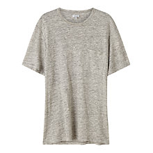 Buy Jigsaw Linen Pocket T-Shirt Online at johnlewis.com