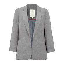 Buy White Stuff Mono Blazer, Fossil Grey Online at johnlewis.com