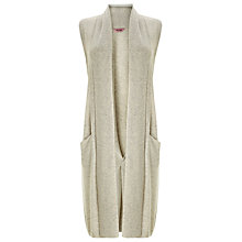 Buy Phase Eight Ciri Shawl Collar Waistcoat, Grey Marl Online at johnlewis.com