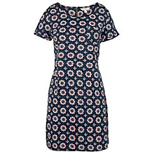 Buy Fat Face Tenby Florence Geo Dress, Navy Online at johnlewis.com