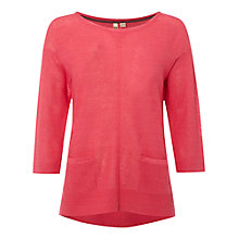 Buy White Stuff Saffron Jumper, Strawberry Pink Online at johnlewis.com