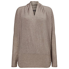 Buy Phase Eight Gwyneth Top, Oatmeal Online at johnlewis.com