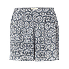 Buy White Stuff Pretty Printed Shorts, Aegean Blue Online at johnlewis.com