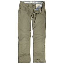 Buy Fat Face Paper Light Chinos, Basil Online at johnlewis.com