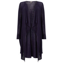 Buy Phase Eight Luella Linen Cardigan, Navy Online at johnlewis.com