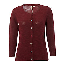 Buy White Stuff Lucky Cardigan, Plum Pink Online at johnlewis.com