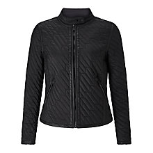Buy Calvin Klein Omara Padded Jacket, Black Online at johnlewis.com