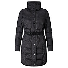 Buy Calvin Klein Orla Long Padded Coat, Phantom Online at johnlewis.com