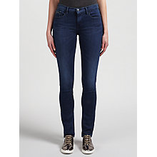 Buy Calvin Klein Mid Rise Slim Jeans, Blue Heaven Online at johnlewis.com