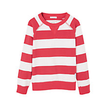 Buy Mango Kids Boys' Stripe Sweatshirt Online at johnlewis.com