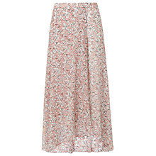 Buy L.K. Bennett Karo Daisies Print Skirt Online at johnlewis.com