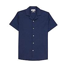 Buy Reiss Falcon Cuban Collar Shirt Online at johnlewis.com