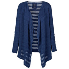 Buy Fat Face Waterfall Cardigan, Indigo Online at johnlewis.com